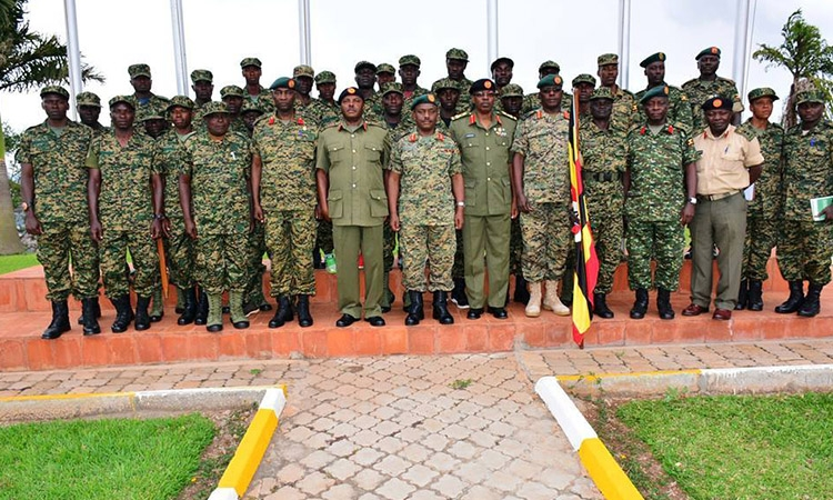 UPDF SENDS 127 OFFICERS TO EAC MILITARY GAMES