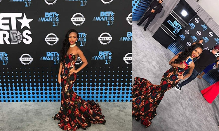 Sheilah Gashumba Is Gorgeous in African Wear at BET Awards 2017
