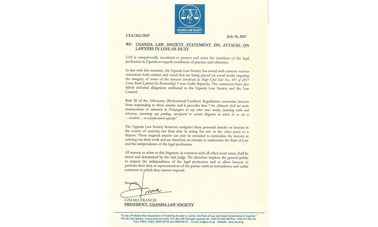 Open Letter to ULS (Lawyer aren't Angels)
