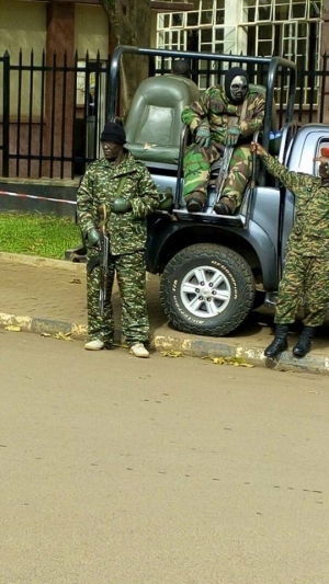 SFC, TEARGAS POLICE DEPLOY TAKES OVER PARLIAMENT