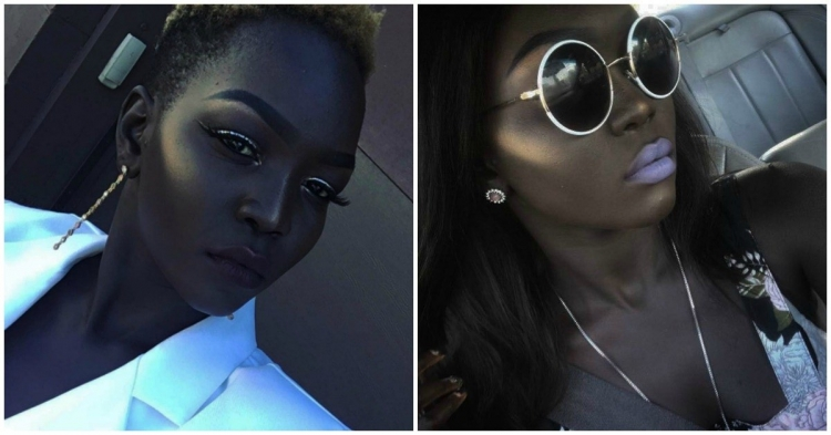 MEET SUDANESE MODEL POPULARLY KNOWN AS QUEEN OF THE DARK