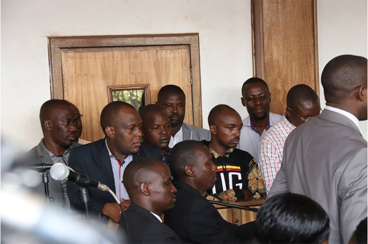 COURT WANTS REDPEPPPER BOSSES TO NEGOTIATE WITH STATE TO END THEIR OFFICES SIEGE