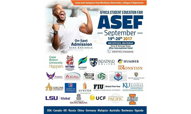 WR TO HOLD MEGA AFRICA STUDENT EDUCATION FAIR!