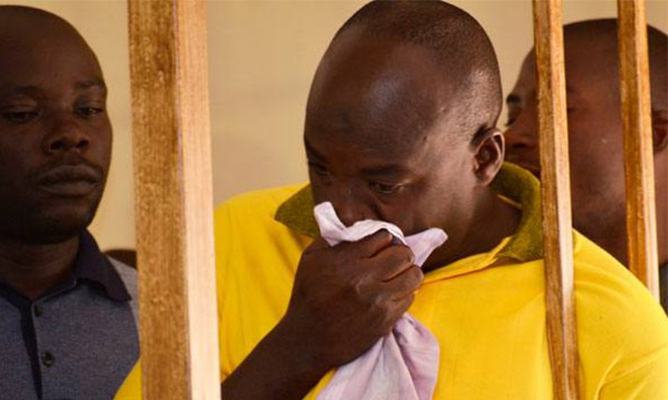KITATTA BEGS M7 TO RESCUE HIM FROM ROTTING IN MILITARY PRISON